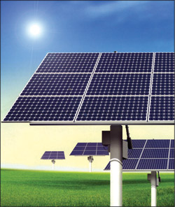 Fig. 2: Solar-panel assembly