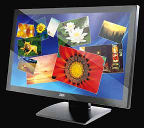 3M's M2167PW multi-touch display offers 20 simultaneous touch events at an ultra-fast 6-millisecond response time