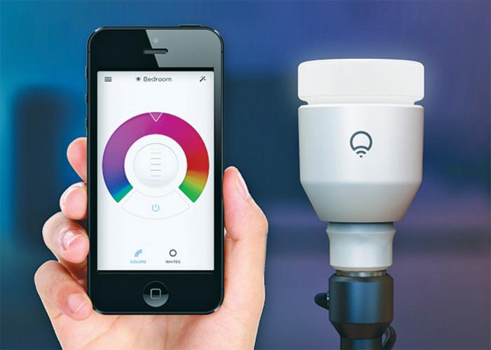 LIFX bulb and phone