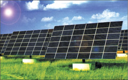 Fig. 3: Solar power plant