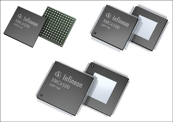 ARM Cortex M4 based Infineon XMC4000 32-bit microcontroller family