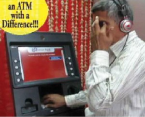 Union Bank Talking ATM for visually impaired (Courtesy: www.addressofwealth.com