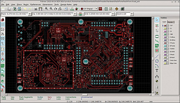 Fig. 4: KiCAD, a continuously-developed open source platform, can be used to create schematic diagrams and PCBs up to 32 copper layers (Image courtesy: www.kicad-pcb.org) LabVIEW 2014 has a variety of enhancements made. For instance, in block diagrams, it automatically creates a shift register when a user places For loop or While loop around the existing code.