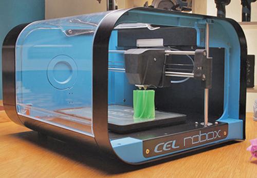Fig. 1: A 3D printer