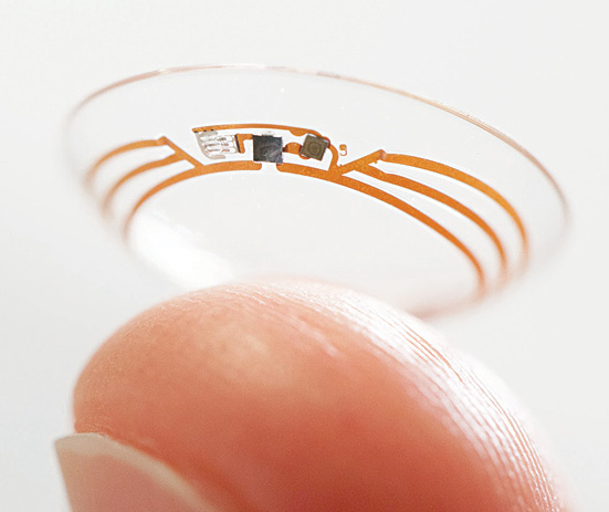 In association with pharmaceutical giant Novartis, Google is developing a smart contact lens to help patients manage diabetes. Apparently, Google has been granted a patent for the same (Image courtesy: www.forbes.com)