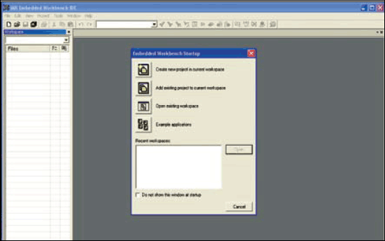 Fig.11: Screenshot of 'Create New Project' in IAR Embedded Workbench