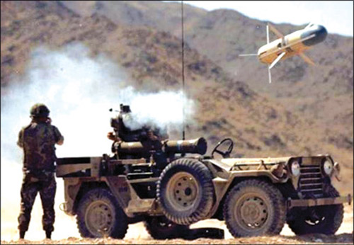 Fig. 10: TOW missile system