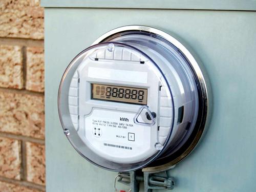 A smart meter (Source: http://smartgridtech.wordpress.com)
