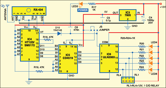 Fig. 5: Receiver circuit