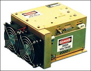 Fig. 3: Capacitor-charging power supplymodule for OEM applications
