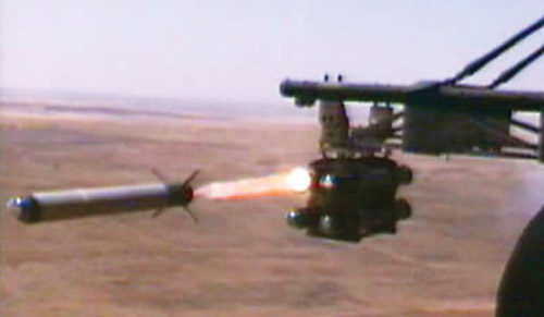 Fig. 14: The LAHAT laser-guided missile