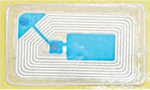 Fig. 2: RFID proximity card