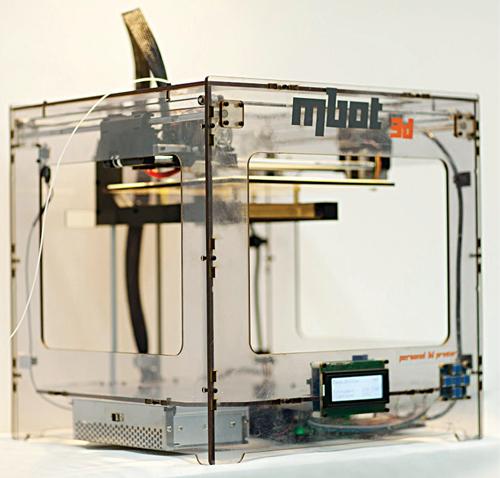 MBotCube PVC 3D printer