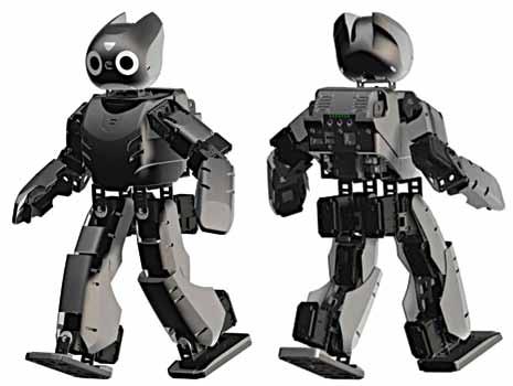 DARwIn-OP Open Source robot (Image courtesy: http://robotanime.com)