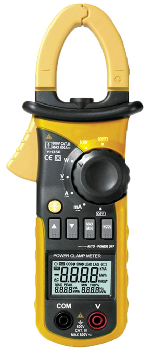 Fig. 1: A clamp meter