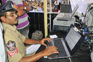 Fig. 4: Crime and Criminal Tracking Network and Systems (CCTNS) has been established to integrate database on crimesby connecting 14,000 police stations in the country (Source: www.skyscrapercity.com)