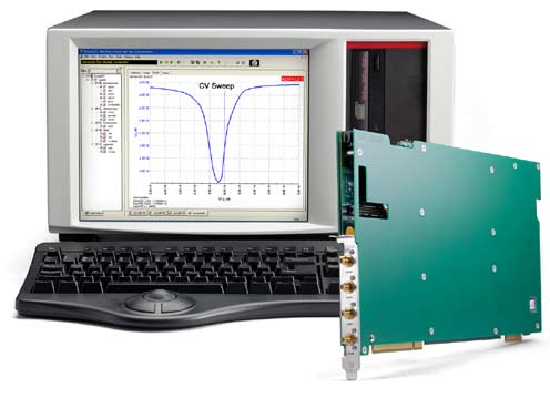 Keithley 4200 semiconductor characterisation system