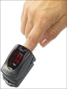 Onyx-II (Model 9560) fingertip pulseoximeter