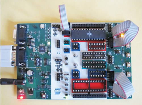 ATMEL STK500 board