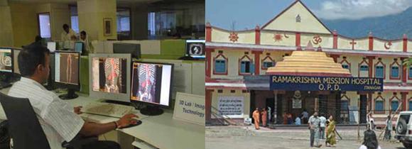 Telrad Foundation provides remote radiology reads for the Ramakrishna Mission hospital in Itanagar, Arunachal Pradesh