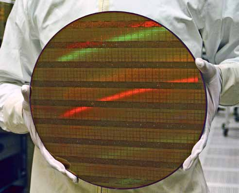 A 45nm wafer