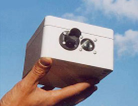 Fig. 1: Optical fog sensor