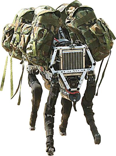Boston Dynamic's military robot dog