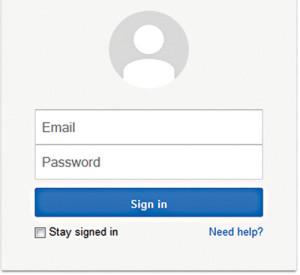 Fig. 1: Gmail login (Credit: Google/Gmail)