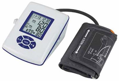 Arm-type talking blood pressure meter AD100