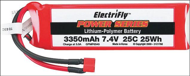 LiPo battery pack