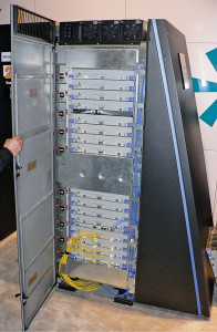 Fig. 3: A cabinet from BlueGene/L, a massively parallelprocessor based supercomputer(Source: www.wikipedia.org)