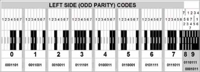 Fig. 1: Left side code