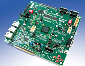 Fig. 3: Actel Accelerator FPGA board