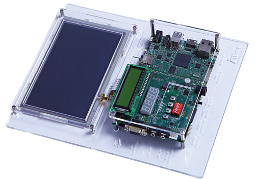 ALPS allows users to easily integrate and evaluate pre-defined peripherals such as displays, sensors and I/O interfaces
