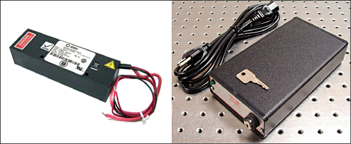 Fig. 10: Commercial helium-neon laser power supplies