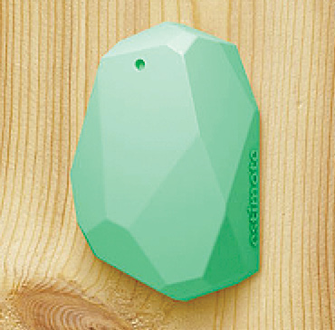 Fig. 2: Estimote beacon mounted on wall