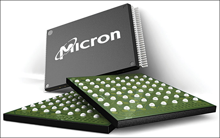 Fig. 5: Phase-change memory chips from Micron in flat-pin and ball-grid array packages