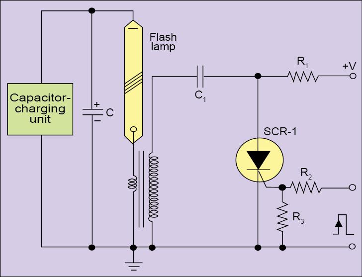 Fig. 9: Series triggering circuit
