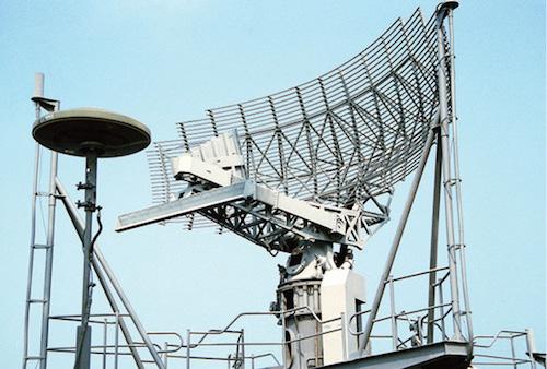 Fig. 3: AN/SPS-49 radar antenna