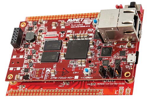 MicroZed board from Avnet
