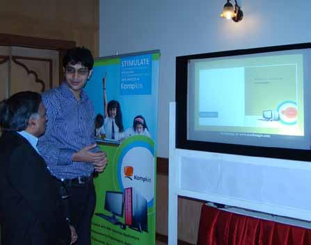 OLED screening in a seminar