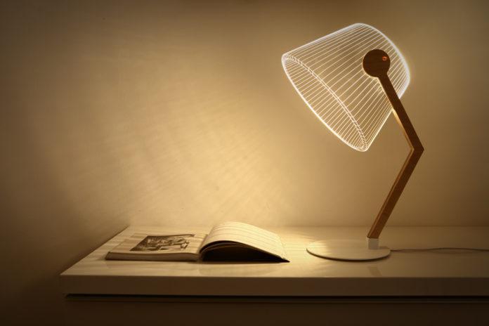 LED based reading lamp