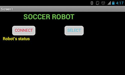 Robot's controls