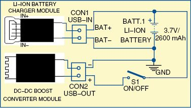 Power bank circuit