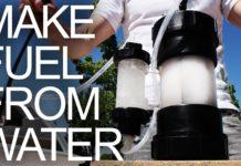 water fuel converter