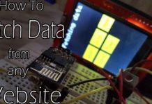 fetch data using ESP8266