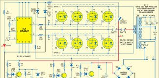 sine wave inverter circuit