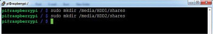 Fig. 4: Create the shared folder
