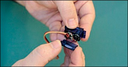Fig. 2: Circuit inside the casing