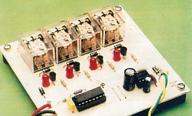 Four-Channel Video and Audio Sequencer